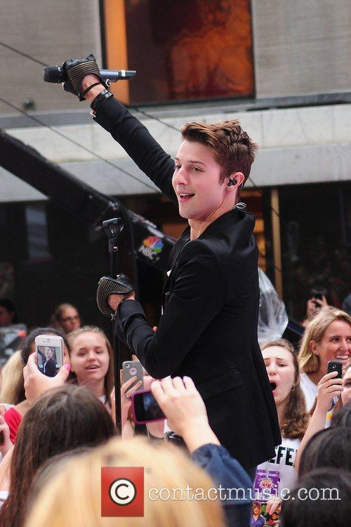 Ryan Follese Hot Chelle Rae performs at the...