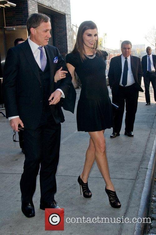 Heather Dubrow  leaving a Manhattan hotel ahead...