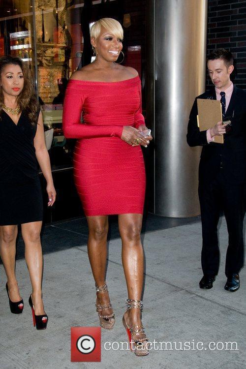 NeNe Leakes  leaving a Manhattan hotel ahead...