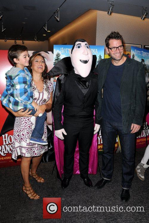 Mariska Hargitay, Peter Hermann and August Hermann 2