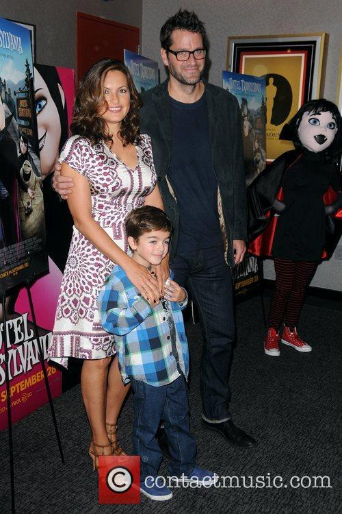 Mariska Hargitay, Peter Hermann and August Hermann 5