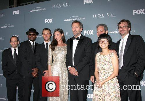 Peter Jacobson, Hugh Laurie, Jesse Spencer, Omar Epps and Robert Sean Leonard 2