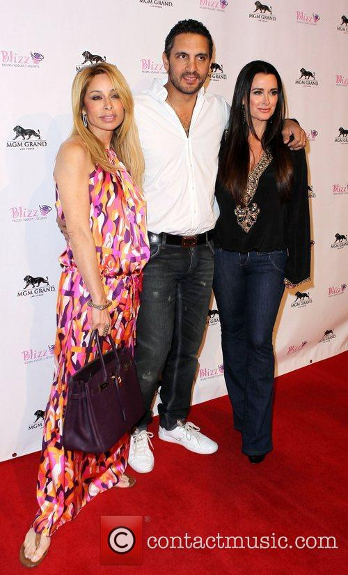 Guest, Mauricio Umansky, Kyle Richards The Real Housewives...
