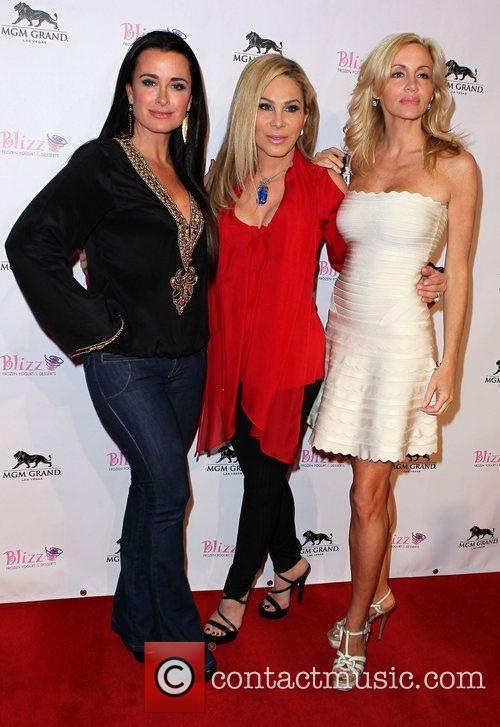 Kyle Richards, Adrienne Maloof, Camille Grammer The Real...