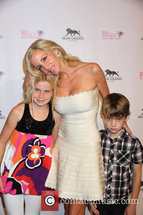 Mason and Camille Grammer 4