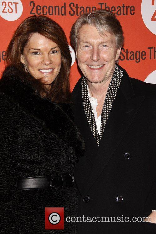 Carolyn McCormick and Byron Jennings Opening night of...