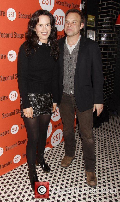 Elizabeth Reaser and Norbert Leo Butz Opening night...