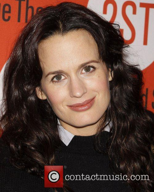 Elizabeth Reaser from the Twilight films Opening night...