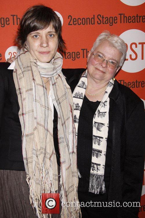 Kate Whoriskey and Paula Vogel Opening night of...