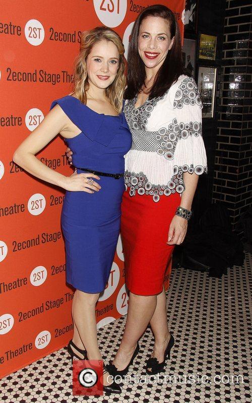 Marnie Schulenberg and Jennifer Regan Opening night of...