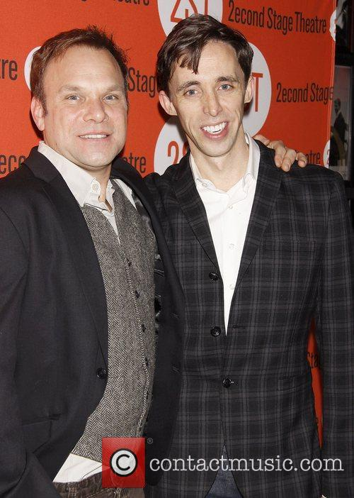 Norbert Leo Butz and Kevin Cahoon Opening night...