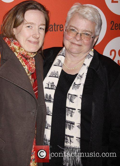 Sarah Ruhl and Paula Vogel Opening night of...