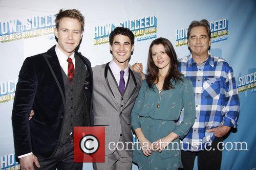 Christopher J. Hanke, Darren Criss, Rose Hemingway and...