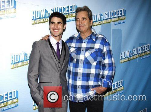 Darren Criss and Beau Bridges After party for...