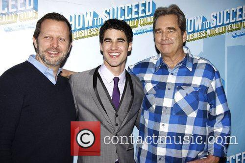 After party for Darren Criss's Broadway debut in...