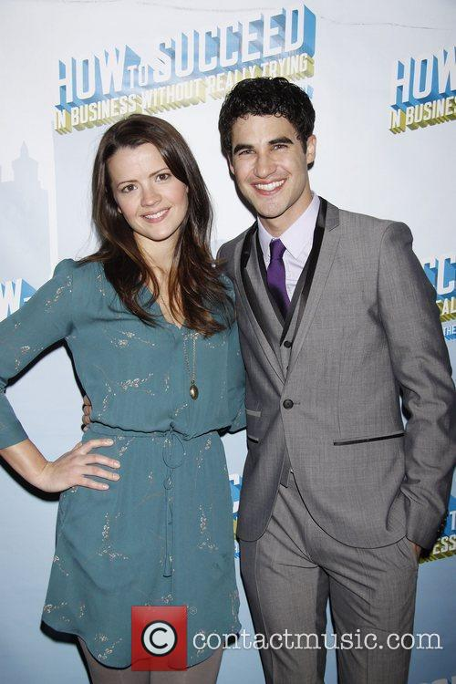Rose Hemingway and Darren Criss  After party...