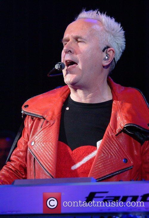 Howard Jones performs live at the Shepherds Bush...