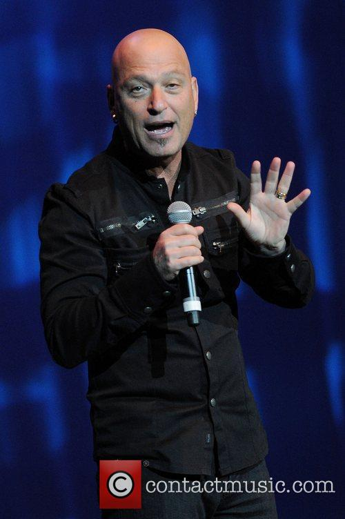 Canadian Stand-up comedian Howie Mandel performing live at...