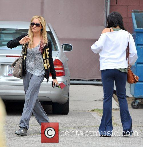 Ashley Tisdale and Vanessa Hudgens out and about...