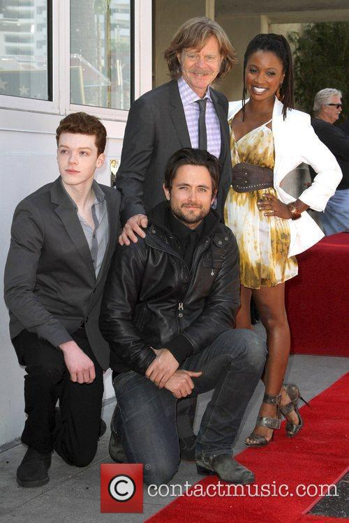 Cameron Monaghan, Justin Chatwin, William H Macy and Walk Of Fame 1