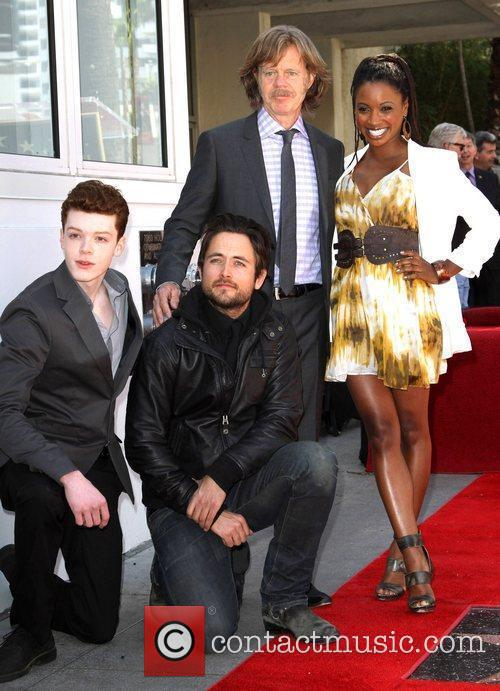 Cameron Monaghan, Justin Chatwin, William H Macy and Walk Of Fame 2