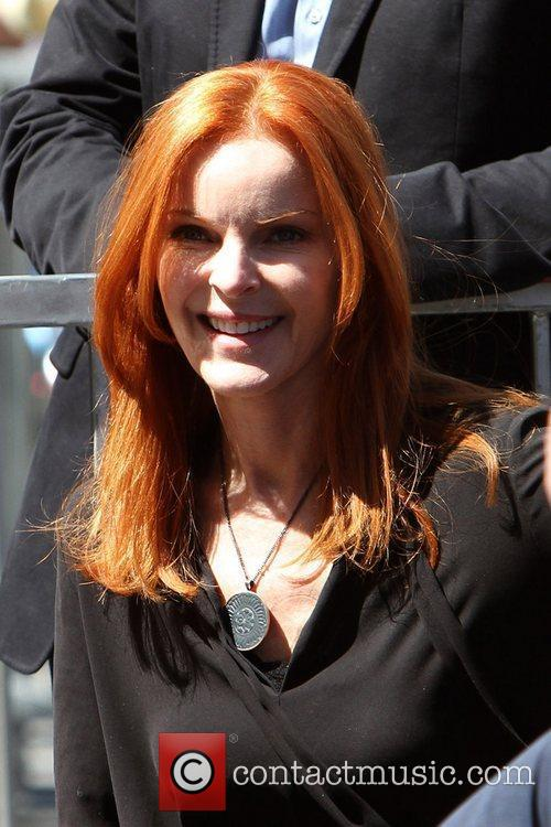 Marcia Cross and Walk Of Fame 5