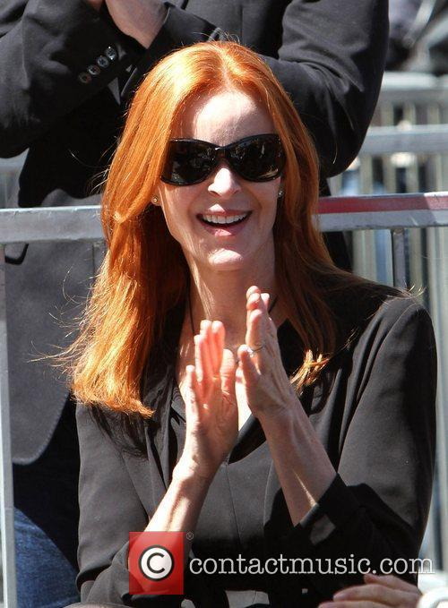 Marcia Cross and Walk Of Fame 6