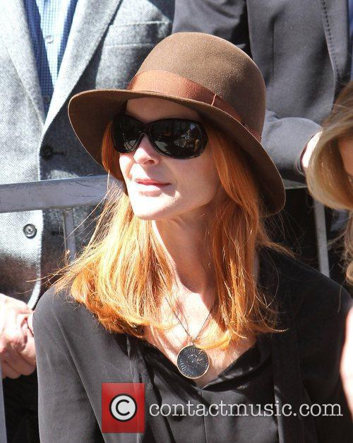 Marcia Cross and Walk Of Fame 7