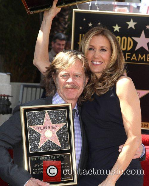 Felicity Huffman, William H Macy and Walk Of Fame 1