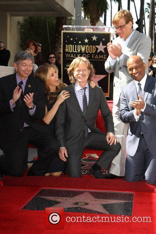 William H Macy, Aaron Sorkin and Walk Of Fame 2