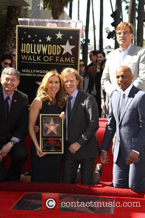 William H Macy, Aaron Sorkin and Walk Of Fame 1