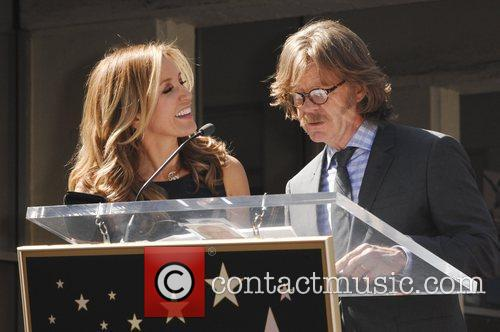 Felicity Huffman, William H Macy and Walk Of Fame 6