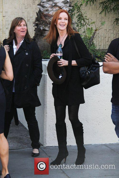 Marcia Cross and Walk Of Fame 8