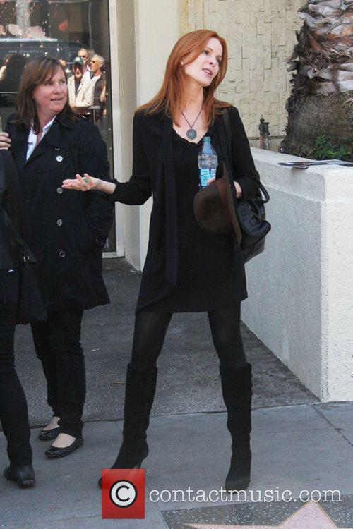 Marcia Cross and Walk Of Fame 1