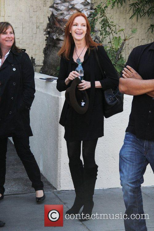 Marcia Cross and Walk Of Fame 11