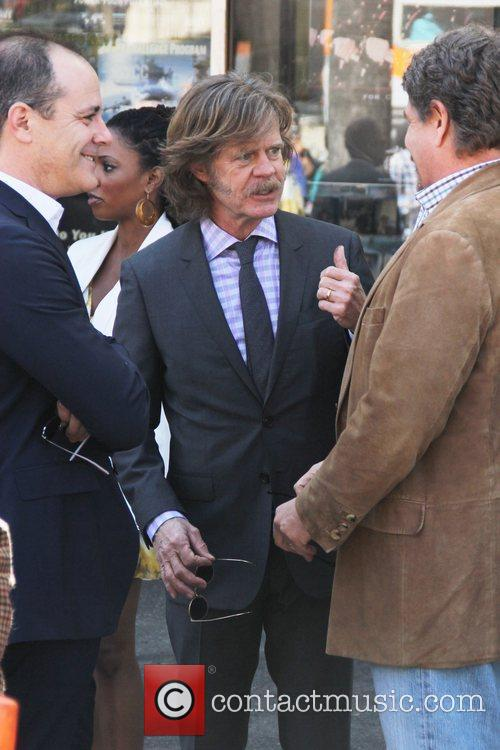 William H Macy, John Wells and Walk Of Fame 6