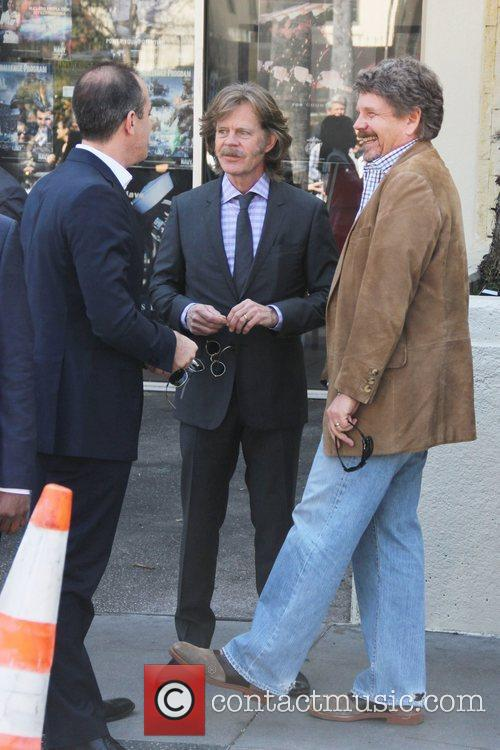 William H Macy, John Wells and Walk Of Fame 7