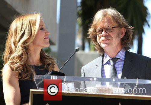 Felicity Huffman, William H Macy and Walk Of Fame 4