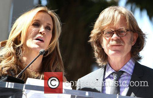 Felicity Huffman, William H Macy and Walk Of Fame 5