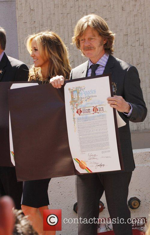Felicity Huffman, William H Macy and Walk Of Fame 2