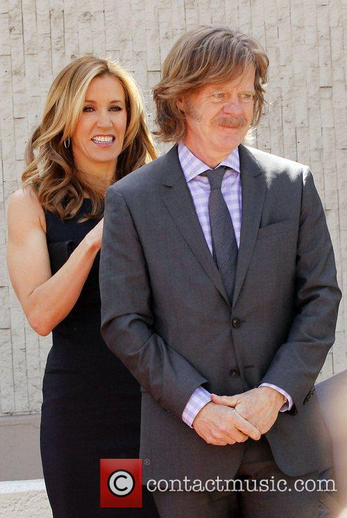 Felicity Huffman, William H Macy and Walk Of Fame 3