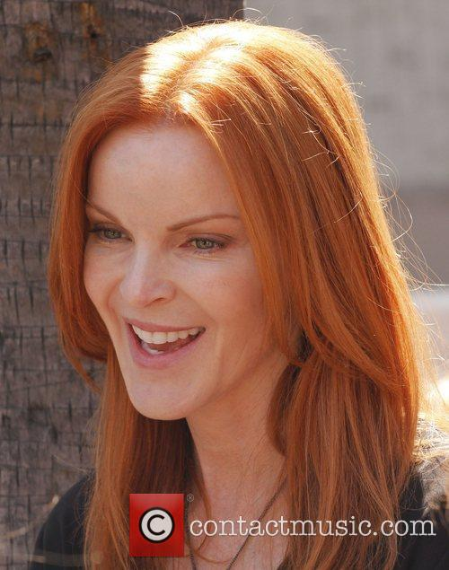Marcia Cross and Walk Of Fame 2