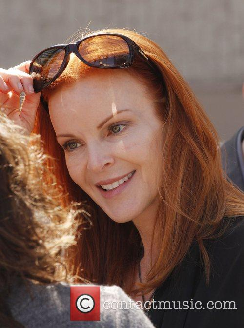 Marcia Cross and Walk Of Fame 3