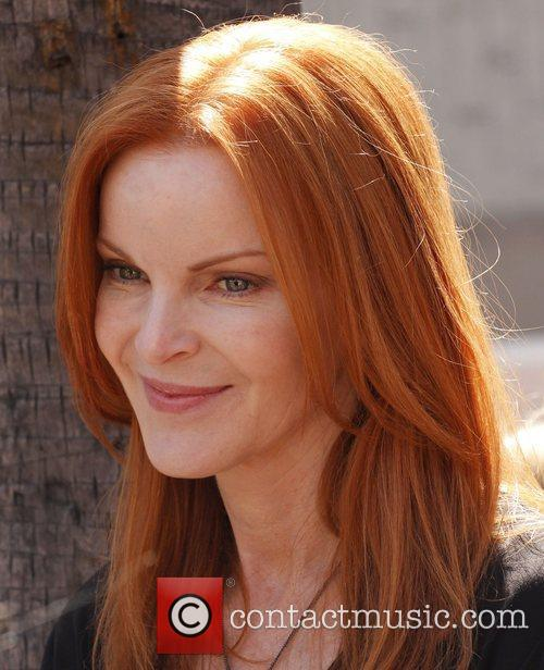 Marcia Cross and Walk Of Fame 4