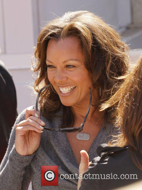 Vanessa Williams and Walk Of Fame 7