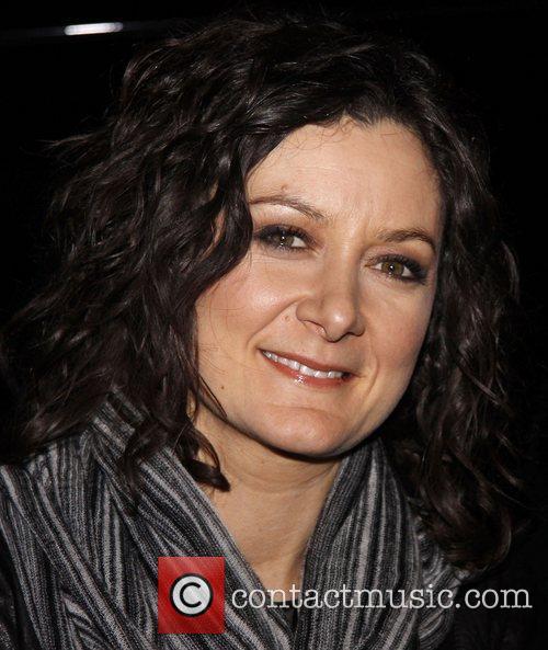 CBS' The Talk Co-Host Sara Gilbert attending a...