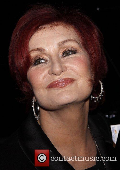 Host Sharon Osbourne attending a performance of 'Hugh...