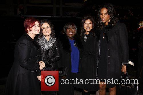 CBS' The Talk Co-Hosts: Sharon Osbourne, Sara Gilbert,...