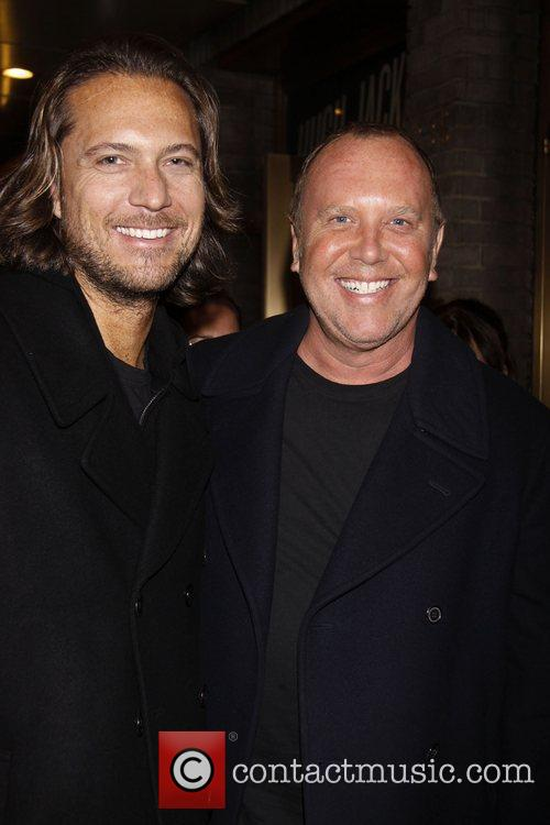 Lance LePere and Michael Kors attending a performance...