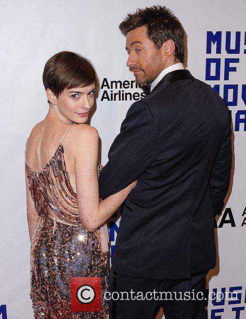 Hugh Jackman and Anne Hathaway 5